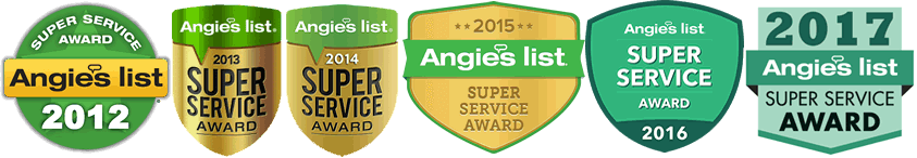 Angies List Super Service Awards
