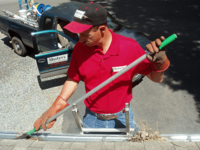 Gutter Cleaning in Folsom, CA By Masters