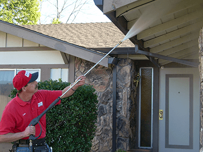 House Washing in Citrus heights, CA by Masters