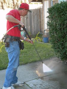 Pressure Cleaning In Sacramento California Masters