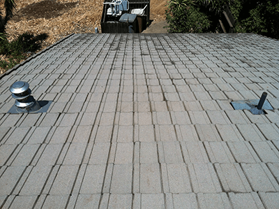 After Roof Cleaning in Sacramento, CA